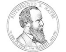 2011 RUTHERFORD B.HAYES COIN ( P )  PRES DOLLAR Commemorative