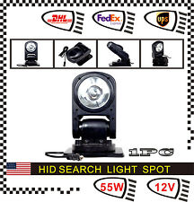 55W Spot HID Xenon Magnetic 360º Search Work Light Remote Control For Fog Boat