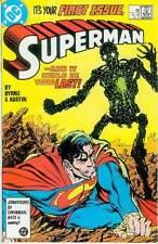 Superman (2nd series) # 1 (John Byrne) (USA, 1987)
