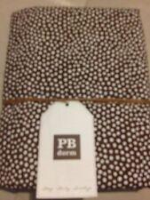 Pottery Barn Teen PB Teen Mini Dot Duvet Twin NWT Brown Coffee