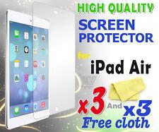 3 Nuovo di Alta Qualità Pellicola Protettiva Schermo Protezione Pellicola Per Apple iPad Air