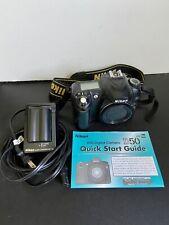 Nikon D50 6.1 MP Digital SLR Camera - Black (Body Only) W/ 2 Batteries