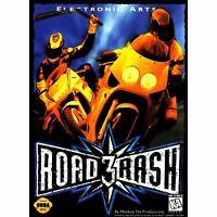Road Rash 3 - Sega Genesis Game *CLEAN VG