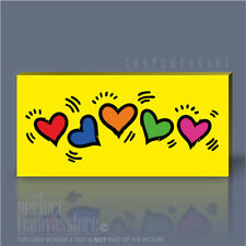 Canvas Hearts & Love Contemporary Wall Hangings