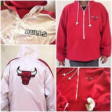 CHICAGO BULLS Vintage NBA Reebok (XXL) Reversible Hooded Sweater ***NEW***