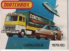 1979/80 MATCHBOX POCKET CATALOG