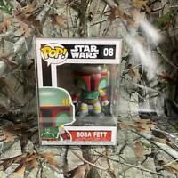 Boba Fett 08 Funko Pop Star Wars Classic Vinyl Bobble Head Figurine Collectible