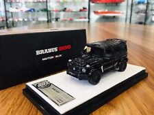 Motorhelix 1/64 Mercedes-AMG Benz G63 Brabus 800 Black Lim 499 Licensed Resin