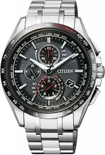 2016 NEW CITIZEN Watch ATTESA Eco-drive radio clock AT8144-51E Men's from japan