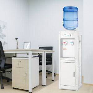 Water Cooler Dispenser Hot&Cool Free standing 5 Gallons Top Loading Office New