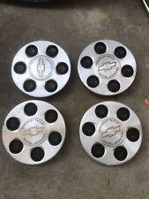 4 Chevy Trucks 15712387 Factory OEM GM Center Wheel 6 Lug Hub Cap Rim Cover Set