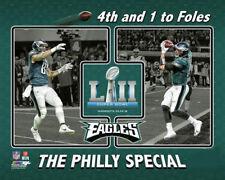 Philadelphia Eagles PHILLY SPECIAL Burton-to-Foles SB LII Premium POSTER Print