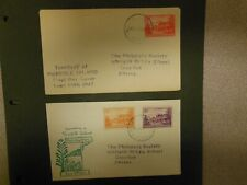 Two 1947 Norfolk Island FDC'S To England