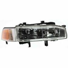 For Accord 92-93, Passenger Side Headlight, Clear Lens
