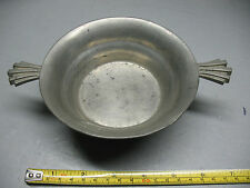SVENSKT TENN  DECO  PEWTER  BOWL SWEDEN