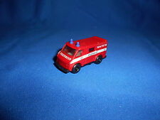 GERMAN FIRE FIGHTERS TRUCK #2 Emergency Vehicle Toy Plastic Toy Kinder Surprise