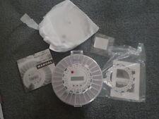 Med- E -Lert Premium Locking Automatic Pill Dispenser with Alarm EUC Clear Top