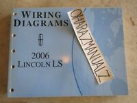 2002 Lincoln Ls Wiring Diagrams Full Shop Manual Excellent Condition