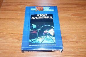 Atari XE XL - Star Raiders II - Boxed Game - Game Cartridge RX8078