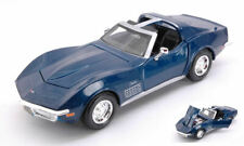 Chevrolet Corvette 1970 Metallic Blue 1:24 Model 31202B MAISTO