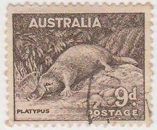 (PDX235) 1938 AU 9d platypus (B)