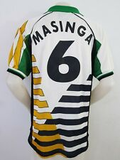 MAGLIA CALCIO SHIRT SOUTH AFRICA 1998 MASINGA KAPPA MAILLOT FOOTBALL ITALY N58