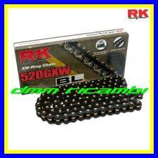 Catena RK GP 525 GXW BLACK SCALE X-Ring 120mg. Nero/Oro colorata XRING
