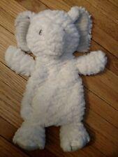 Mary Meyer Afrique Elephant White Cream Gray Lovey Soft Toy