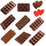 3D Silicone Chocolate Mold Candy Cookie Fondant Cake Decoration Baking Mould