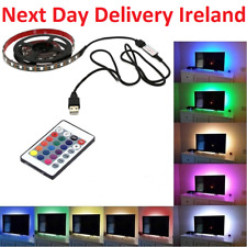 5050 2m SMD RGB USB TV Desktop PC Computer LED Strip Backlight Lights  Strip