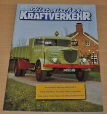 Historischer Kraftverkehr HIK 6/00 VW Transporter Büssing NAG 500 S Faun Bauer