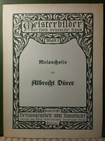 Meisterbilder fürs deutsche Haus - Blatt 3 Albrecht Dürer.