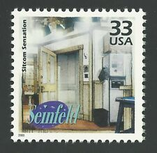 1990's Classic Television TV Sitcom Jerry SEINFELD Larry David US Stamp MINT NH!