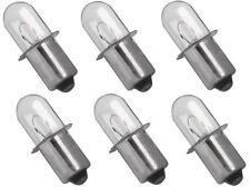 Dewalt 18v Volt Xenon Replacement Flashlight Bulb DC509 (6 pack)