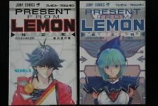JAPAN Masakazu Katsura manga LOT: Present from Lemon vol.1+2 Complete Set