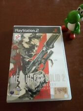 METAL GEAR SOLID 2 SONS OF LIBERTY ps2 PlayStation PAL ITA RARE HIDEO KOJIMA
