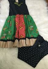 Girls Matilda Jane Cranberry Pie dress and social studies scrappies lot Size 8