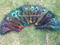 """Wholesale,10-200pcs Staining Peacock Tail Feathers about 10-12 Inches"""""""