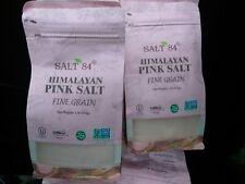 9 POUNDS Himalayan Pink SALT 84 Sea Salt New Bags Vegan & Kosher Certified