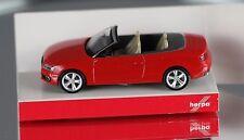 HERPA 024174 H0, 1:87 - Audi A5 (R) Cabrio rot (brilliantrot) - NEUWARE!