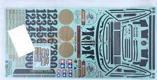 Tamiya 9494190/19494190 Porsche Turbo RSR Type 934 47362 Black Ed. Decal/Sticker