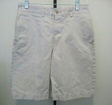 Vineyard Vines Flat Front Boys Khaki 100% Cotton Shorts Size 16 Youth