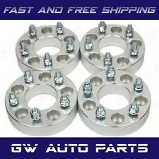 "4 PC 1"" WHEEL SPACER ADAPTERS 5X110 to 5x100 CB 65.1mm Studs12x1.5"
