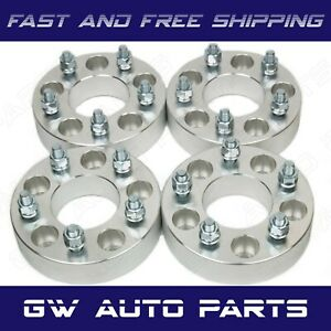 "4 PC 1.25"" WHEEL SPACER ADAPTERS 5x120 to 5X4.5 