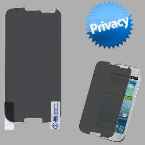 Privacy Viewer Guard LCD Screen Cover Film Protector for Samsung Galaxy S 3
