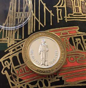 "Pioneer ""Billy The Kid"" $10 Dollar Casino Token .999 Fine Silver Strike Bid Now"