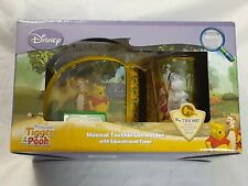 DISNEY Winnie the Pooh & Tigger Musical Toothbrush Holder *NEW IN BOX*