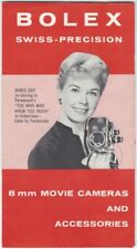 1956 Bolex Swiss Home Movie Camera & Accessories Brochure