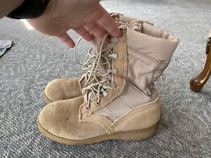 Womens Army Boots-7.5