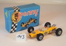 Polistil Penny ca. 1/66 Nr. 0/2 Lola Climax F1 Formel 1 gelb Nr. 2 OVP #143